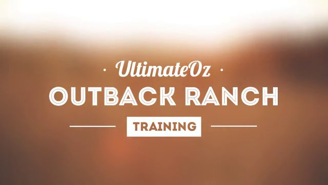Outback Ranch Training